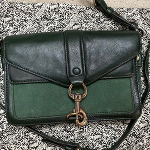 Rebecca Minkoff Leather and Suede Crossbody Bag
